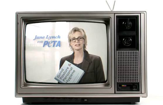 Jane Lynch PETA